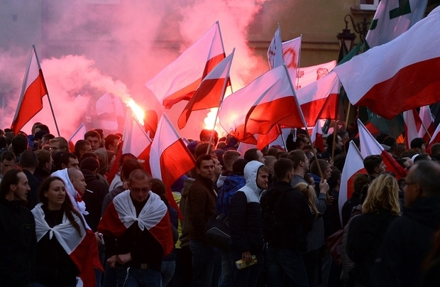 POLAND-EUROPE-MIGRANTS-DEMO